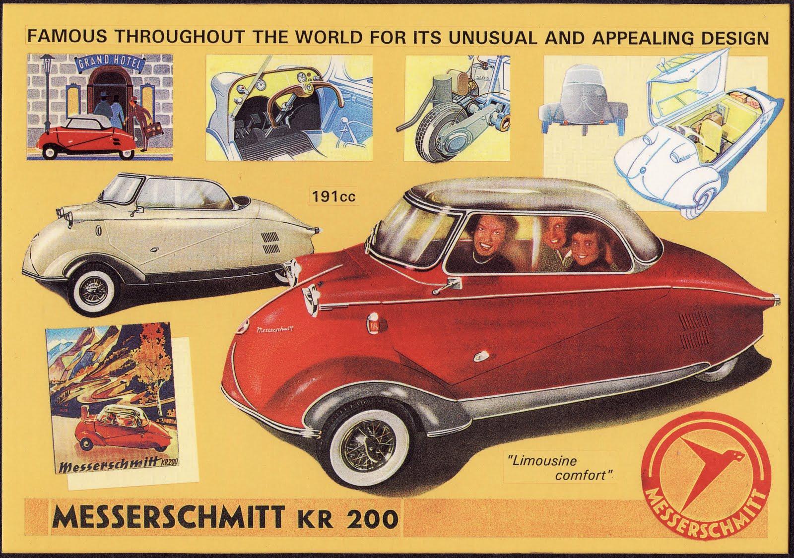 saved from the paper drive messerschmitt kr 200. Black Bedroom Furniture Sets. Home Design Ideas