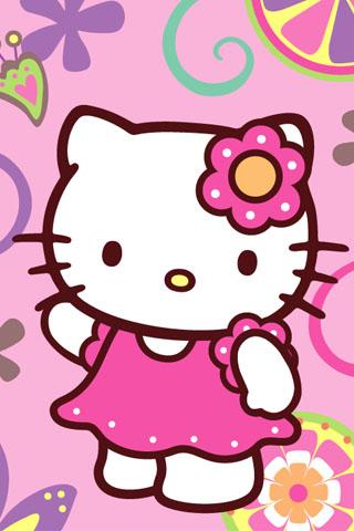 cute pink hello kitty wallpaper - photo #36