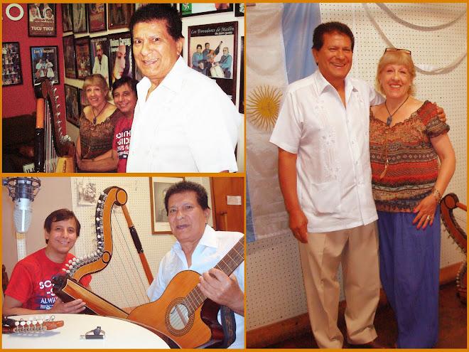 """Visitando el Programa Radial """"El Fogón de Luisita"""" por Radio Folclorisimo"""