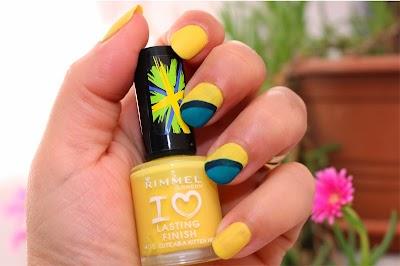 Summer Nails: Yellow!