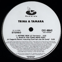 Trina and Tamara – What\'d You Come Here For (Promo VLS) (1999)
