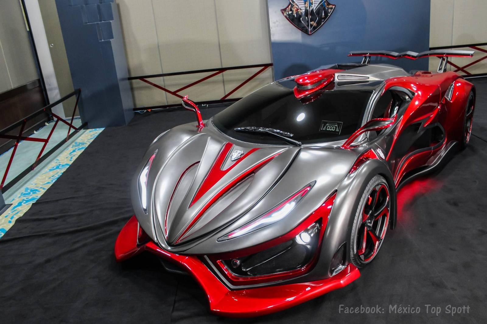 Autos Von Morgen Mexikanischer Supersportwagen Mit 1 400