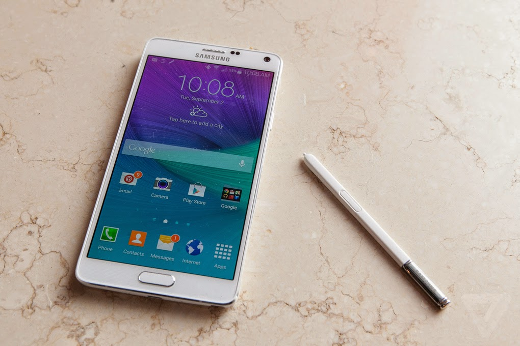 Samsung Galaxy Note 4,
