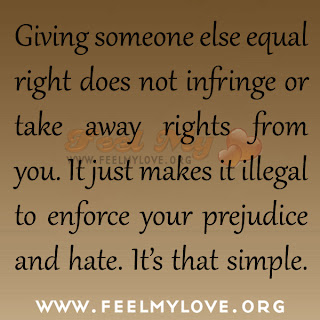 Giving someone else equal right does not infringe