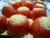 Tomates Recheados ao Forno