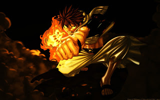 Fairy Tail Natsu Dragneel Anime HD Wallpaper Desktop Background