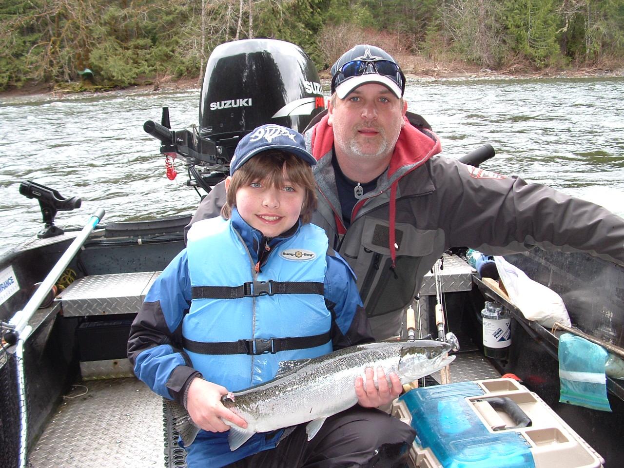 Chinook, Coho, Sockeye, Steelhead, Port Alberni, Guided Fishing, Spring