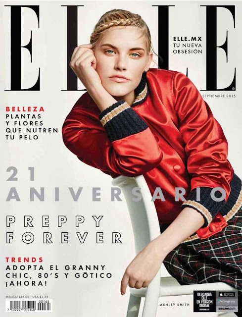 Model @ Ashley Smith - ELLE Mexico September 2015
