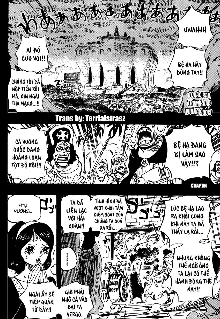 One Piece Chapter 728: Bi kịch 002