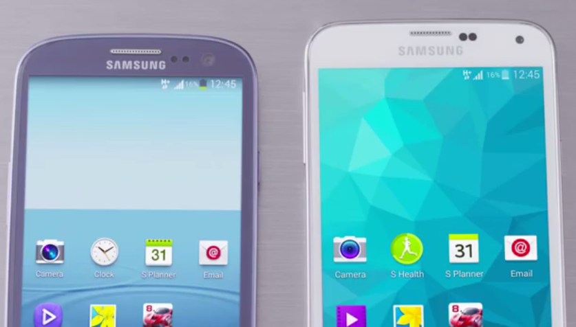 Samsung GALAXY S5 and Samsung GALAXY S3