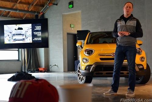 Jason Stoicevich, Head of Fiat Brand North America,