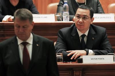 Románia, MRU, Ponta-Johannis konfliktus, hírszerzés, kémfőnök, Klaus Johannis, Victor Ponta