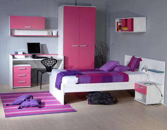 Meus quartos favoritos Quarto de menina adolescente  ~ Quarto Rosa E Roxo