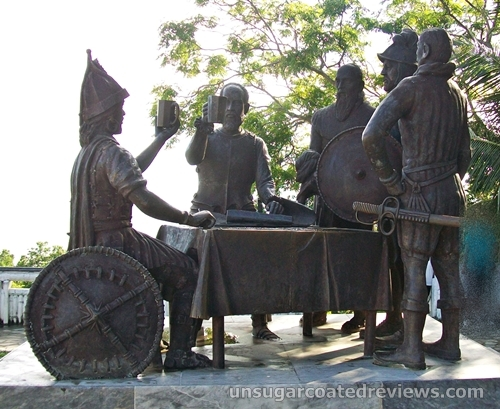 Blood Compact Site in Bohol, Philippines