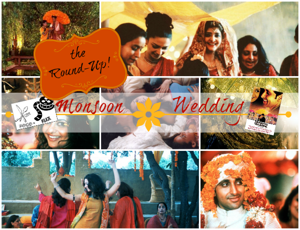 Monsoon Wedding - the roundup of inspired dishes for Food 'n Flix | www.girlichef.com