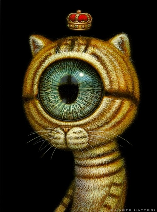 10-King-Eyecat-Naoto-Hattori-Dream-or-Nightmare-Surreal-Paintings-www-designstack-co