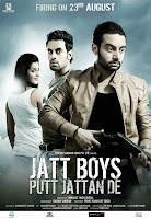 Poster | Punjabi Film |  Jatt Boys Putt Sardaran De