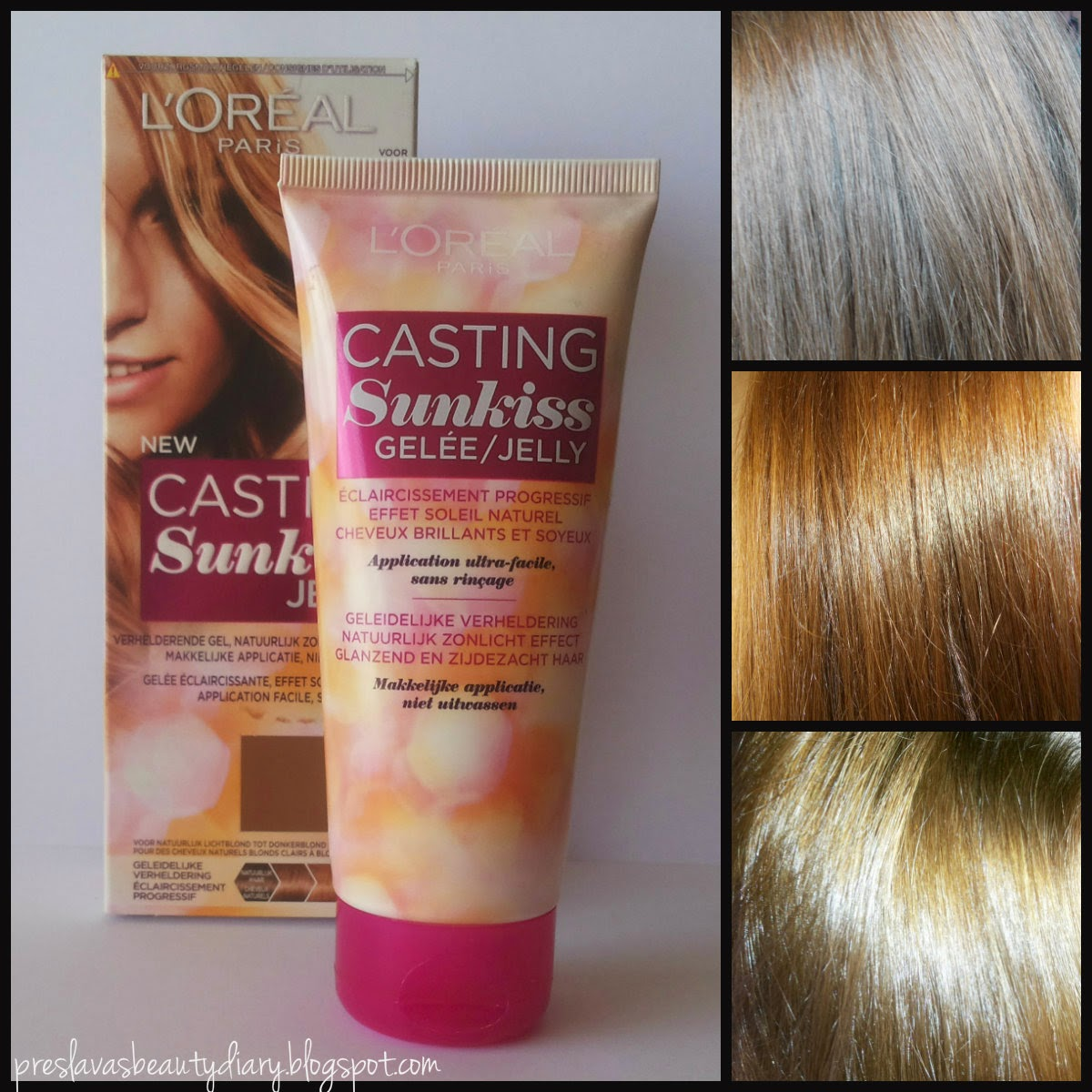Preslava S Beauty Diary Haircare Loreal Casting Sunkiss