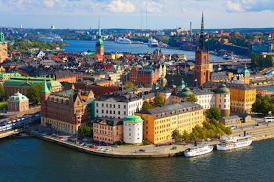 Stockholm panorama Sweden