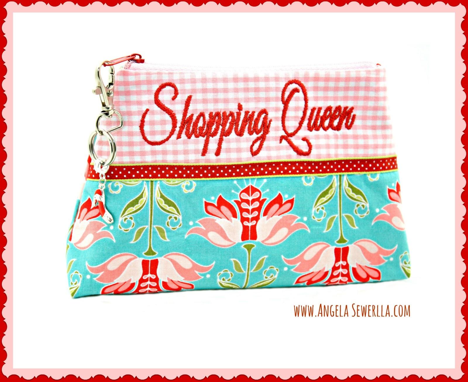 Kosmetiktäschchen Shopping Queen