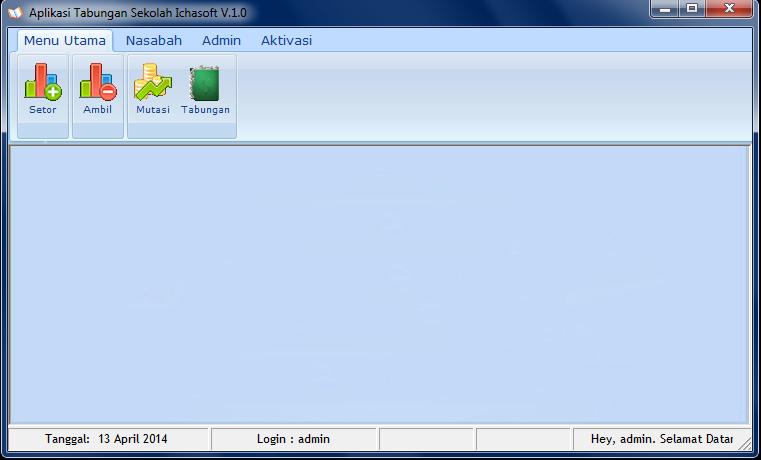 Download Aplikasi Tabungan Siswa SD