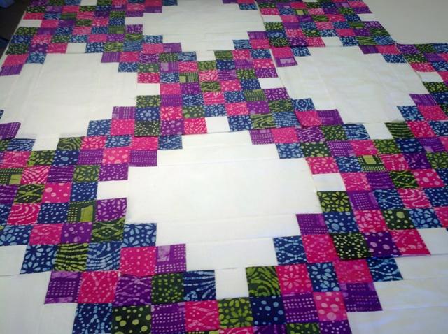 Quilting Tutorials: Progress on my Scrappy Triple Irish Chain : triple irish chain quilt pattern - Adamdwight.com