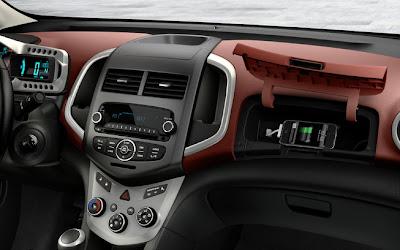 2014 Chevrolet Sonic Sedan Interior