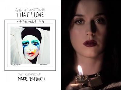 "CHART RIGGER: Lady Gaga vs. Katy Perry: ""Applause"" & ""Roar ... Lady Gaga Applause Promo"