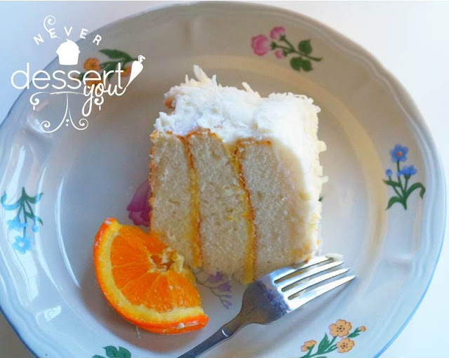 Never Dessert You Orange Coconut Cake