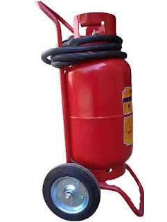 Nạp bình chữa cháy bột tại HCM