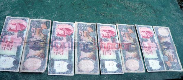 राजधानीमा नक्कली नेपाली नोटको बिगबिगी