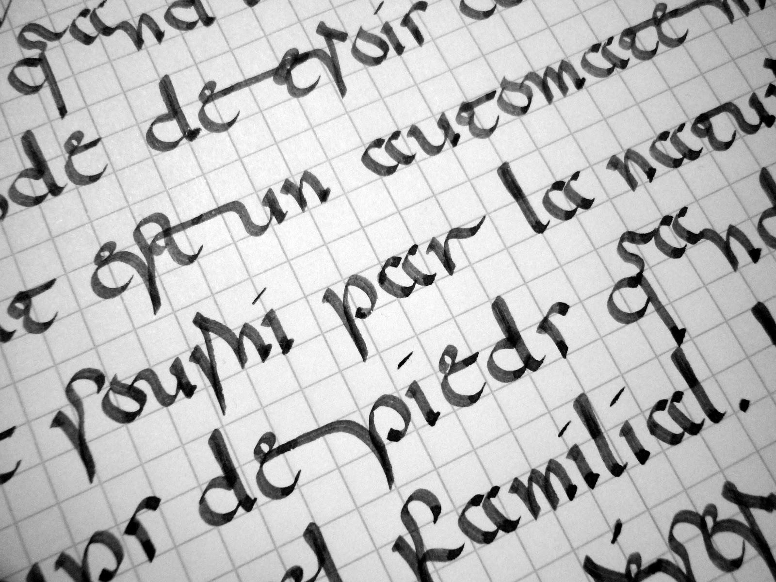 Modele De Lettre Pour Tatouage - Natcalli Tatouages Lettres Facebook