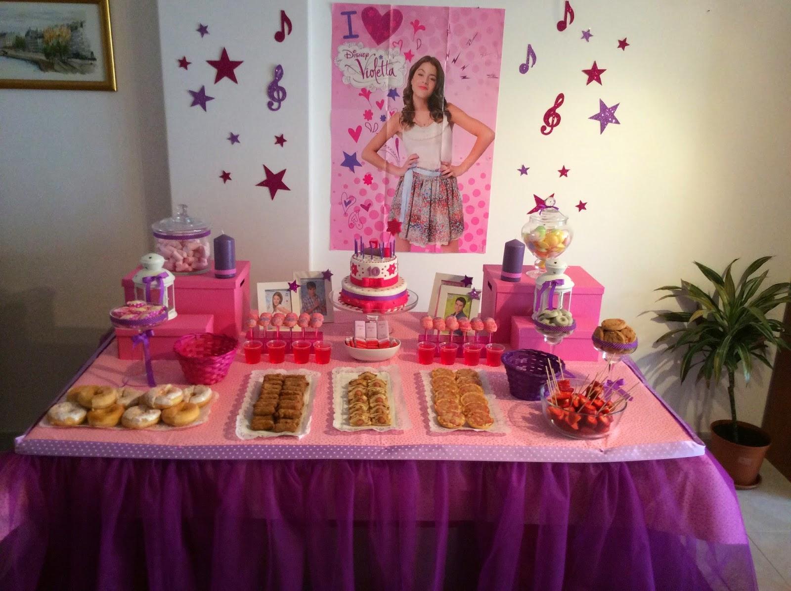 decoracao festa violeta:KOIOKOFI : Festa da Violetta / Violetta Party