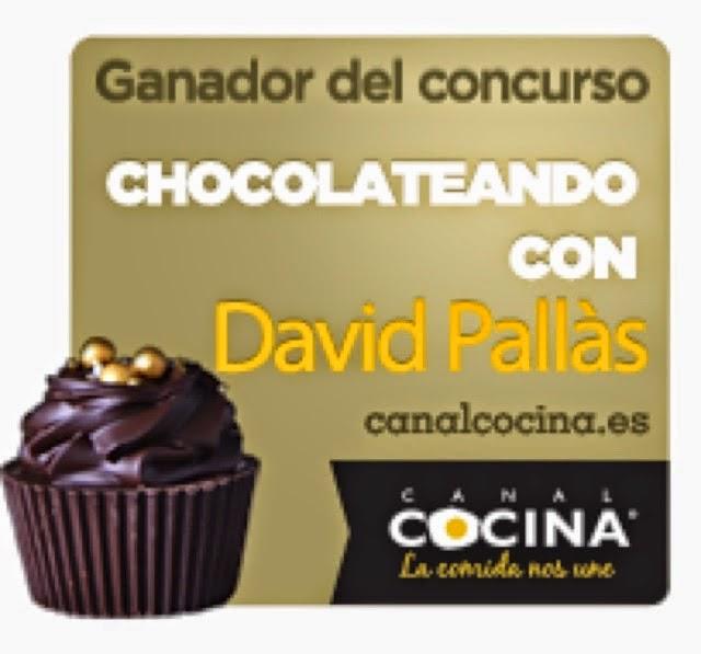 """Ganadora del concurso """"CHOCOLATEANDO"""""""