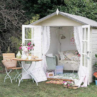 reading nook shed
