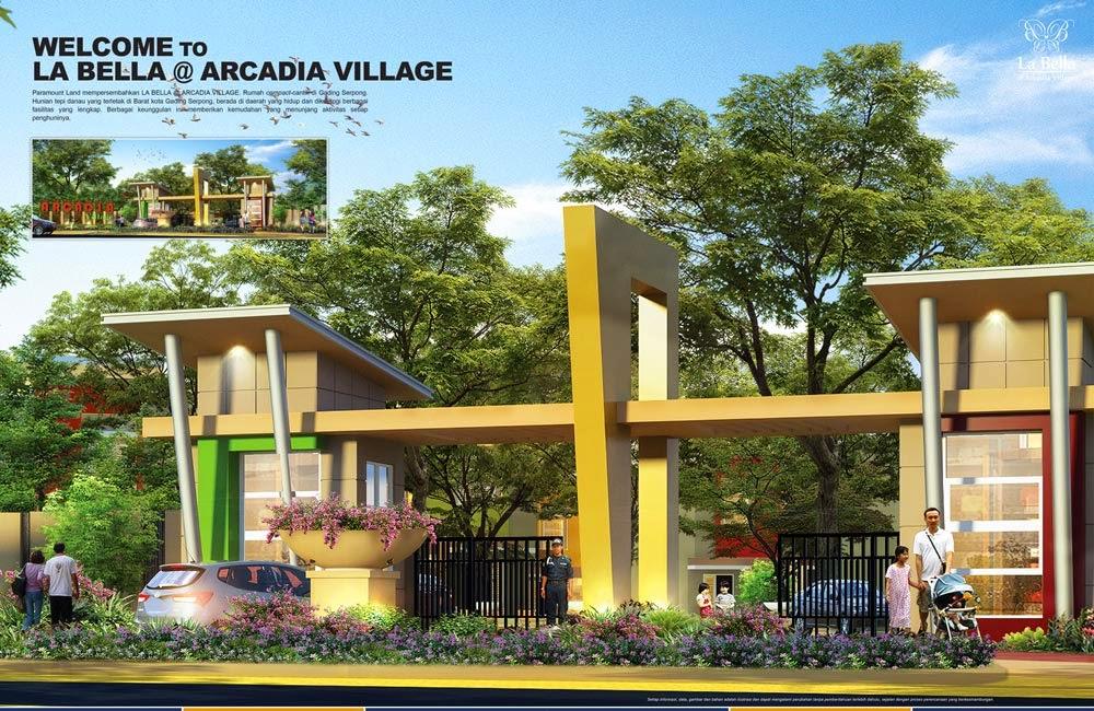 Dijual Rumah Baru Paramount Gading Serpong La Bella Arcadia Village