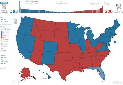 Maximizing Progress October - 2012 us voting map