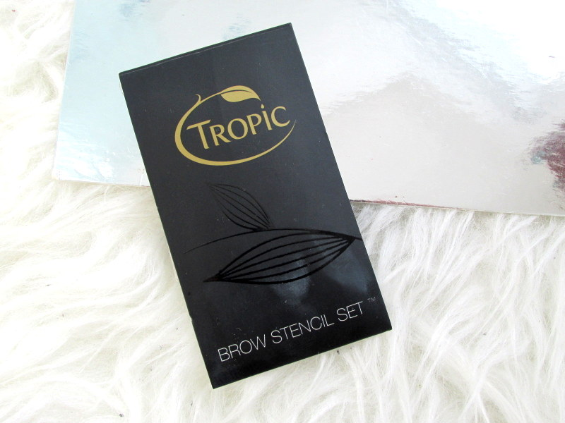 tropic brow stencils set review