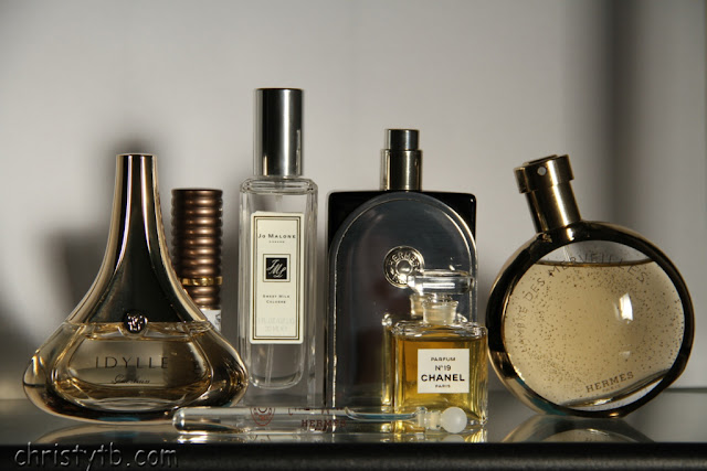 My favorite fall fragrances