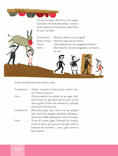 Fábula del buen hombre y su hijo - Español Lecturas 5to 2014-2015