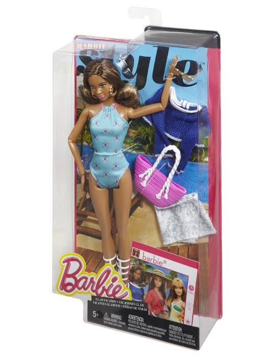 JUGUETES - BARBIE Style  Vacaciones Glam | Resort - Grace | Muñeca  Producto Oficial 2015 | Mattel CJP97 | A partir de 5 años