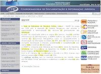 Rede de Bibliotecas do Ministério Público Federal - RBMPF