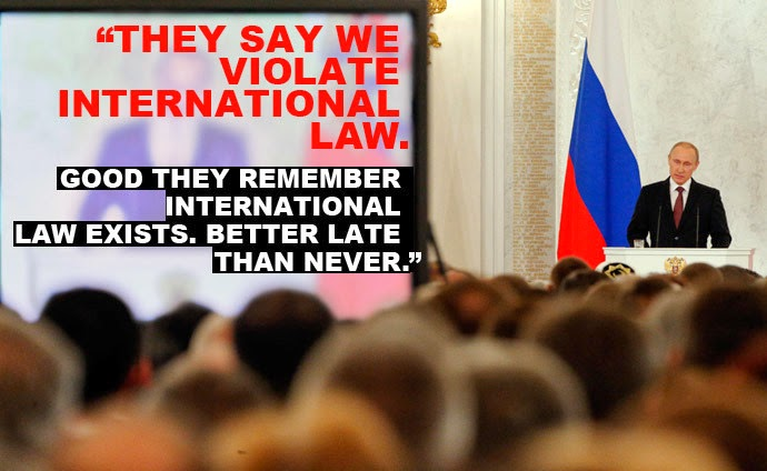 Top 10 Powerful Quotes From Putin's Historic Crimea Address