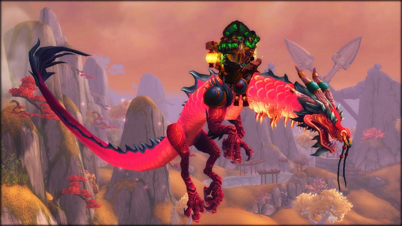 World of Warcraft (Monturas)