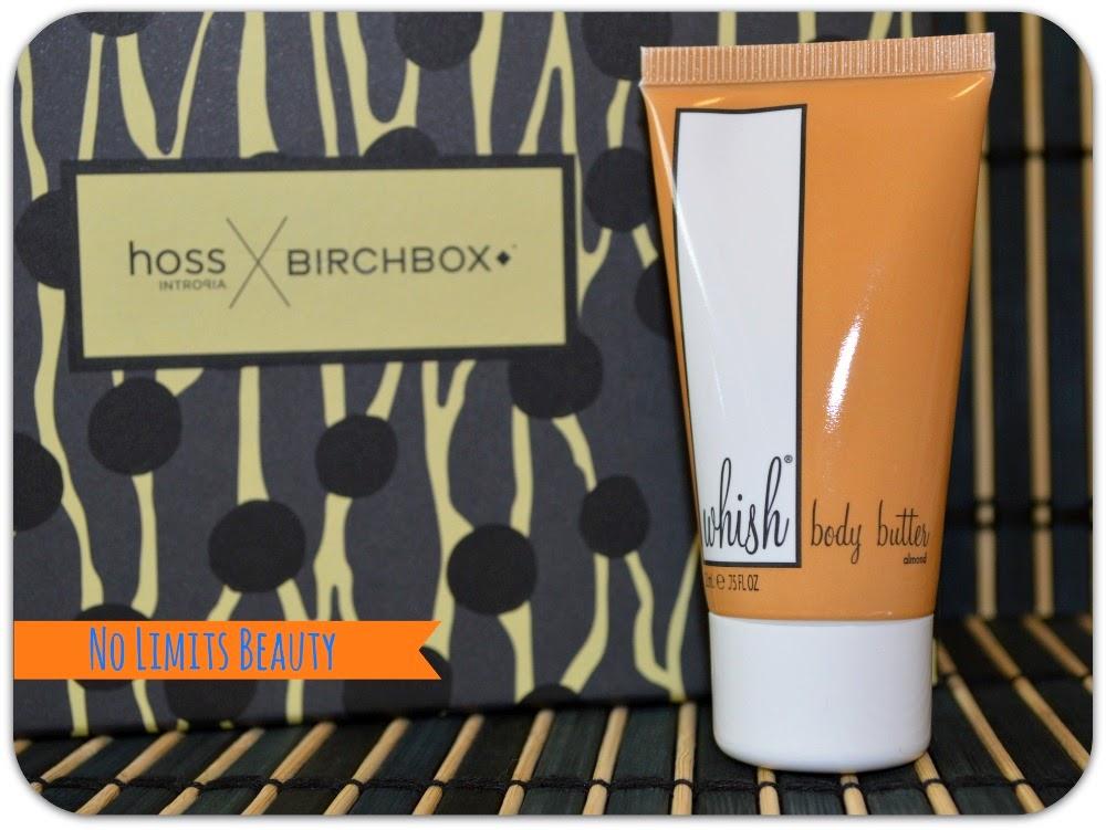 BirchBox - Whish Body Butter - Almond