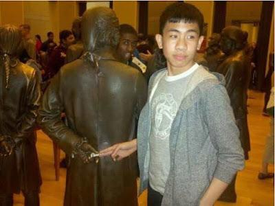 estatua corrupta