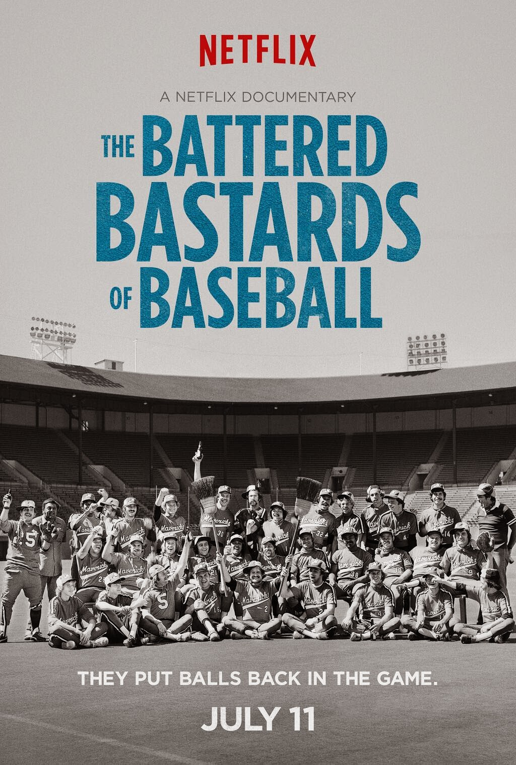 The Battered Bastards of Baseball Poster