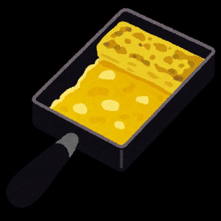 玉子焼き用フライパンの ... : 年賀状 素材 2015 : 年賀状