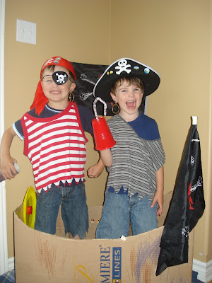Have a Pirate Play Date
