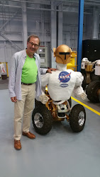 me and my new BFF Robonaut at NASA